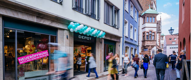 Depot öffnet 500 Shop In Dach Region